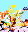 KEEP CALM AND LOVE KIRA-KUN - Personalised Poster A1 size