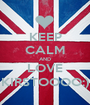 KEEP CALM AND LOVE KIRSTOOOO;) - Personalised Poster A1 size