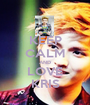 KEEP CALM AND LOVE KRIS - Personalised Poster A1 size