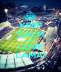 KEEP CALM AND LOVE LAMA! - Personalised Poster A1 size