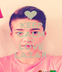 KEEP CALM AND LOVE LAZAR - Personalised Poster A1 size