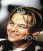 KEEP CALM AND LOVE LEONARDO - Personalised Poster A1 size