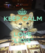 """KEEP CALM    AND LOVE """"LIDIS"""" - Personalised Poster A1 size"""