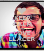 KEEP CALM AND LOVE LLÀCER - Personalised Poster A1 size
