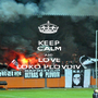 KEEP CALM AND LOVE LOKO PLOVDIV  - Personalised Poster A1 size
