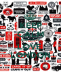 KEEP CALM AND LOVE  LOVE  LONDON - Personalised Poster A1 size
