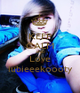 KEEP CALM AND Love lubieeekoooty - Personalised Poster A1 size