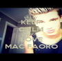 KEEP CALM AND LOVE MAC FAORO - Personalised Poster A1 size