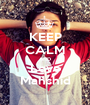 KEEP CALM AND Love Mahshid - Personalised Poster A1 size