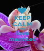 KEEP CALM AND love mantises - Personalised Poster A1 size