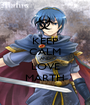 KEEP CALM AND LOVE MARTH - Personalised Poster A1 size