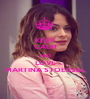 KEEP CALM AND LOVE MARTINA STOESSEL - Personalised Poster A1 size