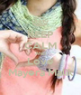 KEEP CALM AND Love Mayera Malik - Personalised Poster A1 size