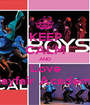 KEEP CALM AND Love Mayfair Academy - Personalised Poster A1 size