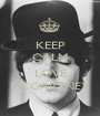 KEEP CALM AND LOVE MCCARTNEY - Personalised Poster A1 size