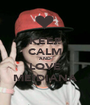 KEEP CALM AND LOVE MEIDIANA - Personalised Poster A1 size
