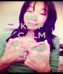 KEEP CALM AND Love Mi  Chinita - Personalised Poster A1 size