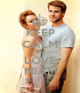 KEEP CALM AND LOVE MIAM - Personalised Poster A1 size
