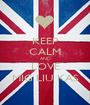 KEEP CALM AND LOVE MIG LIU KAS - Personalised Poster A1 size