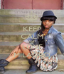 KEEP CALM AND LOVE MILAGRO - Personalised Poster A1 size