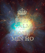 KEEP CALM AND LOVE  MIN HO - Personalised Poster A1 size