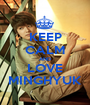 KEEP CALM AND LOVE MINGHYUK - Personalised Poster A1 size