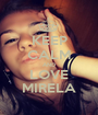 KEEP CALM AND LOVE MIRELA - Personalised Poster A1 size