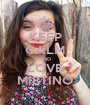 KEEP CALM AND LOVE MIRTINO - Personalised Poster A1 size