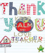 KEEP CALM AND LOVE MISS MONA - Personalised Poster A1 size