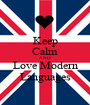 Keep Calm AND Love Modern Languages - Personalised Poster A1 size