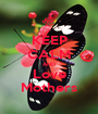 KEEP CALM AND Love Mothers - Personalised Poster A1 size