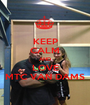 KEEP CALM AND LOVE MTC VAN DAMS - Personalised Poster A1 size