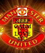 KEEP CALM AND LOVE MU - Personalised Poster A1 size
