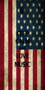 KEEP CALM AND LOVE MU$IC - Personalised Poster A1 size