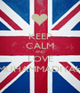 KEEP CALM AND LOVE MUHAMMADIYAH - Personalised Poster A1 size