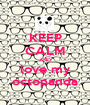 KEEP CALM AND love my octopanda - Personalised Poster A1 size