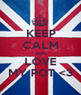 KEEP CALM AND LOVE MY POT <3 - Personalised Poster A1 size
