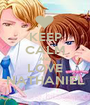KEEP CALM AND LOVE NATHANIEL - Personalised Poster A1 size