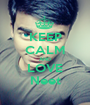 KEEP CALM AND LOVE Neet - Personalised Poster A1 size