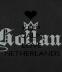 KEEP CALM AND LOVE  NETHERLANDS - Personalised Poster A1 size