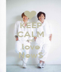 KEEP CALM AND love NewS - Personalised Poster A1 size