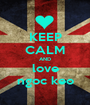 KEEP CALM AND love ngoc keo - Personalised Poster A1 size