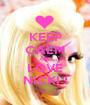 KEEP CALM AND LOVE NICKI ! - Personalised Poster A1 size