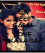 KEEP CALM AND LOVE NIKASAGAR - Personalised Poster A1 size
