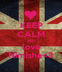 KEEP CALM AND love Nimisha<3 - Personalised Poster A1 size