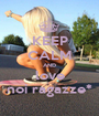 KEEP CALM AND love noi ragazze* - Personalised Poster A1 size