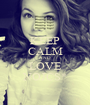KEEP CALM AND LOVE NOJCS* - Personalised Poster A1 size