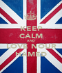 KEEP CALM AND LOVE NOUR HAMED - Personalised Poster A1 size