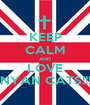 KEEP CALM AND LOVE NYAN CATS!!! - Personalised Poster A1 size