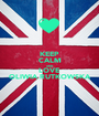 KEEP CALM AND LOVE OLIWIA RUTKOWSKA - Personalised Poster A1 size